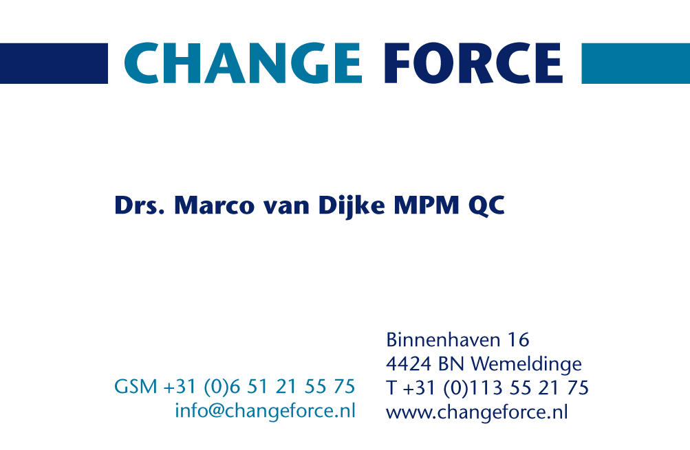 Change Force | Interim & Advies