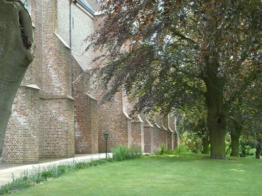 Omgeving kerk Wemeldinge