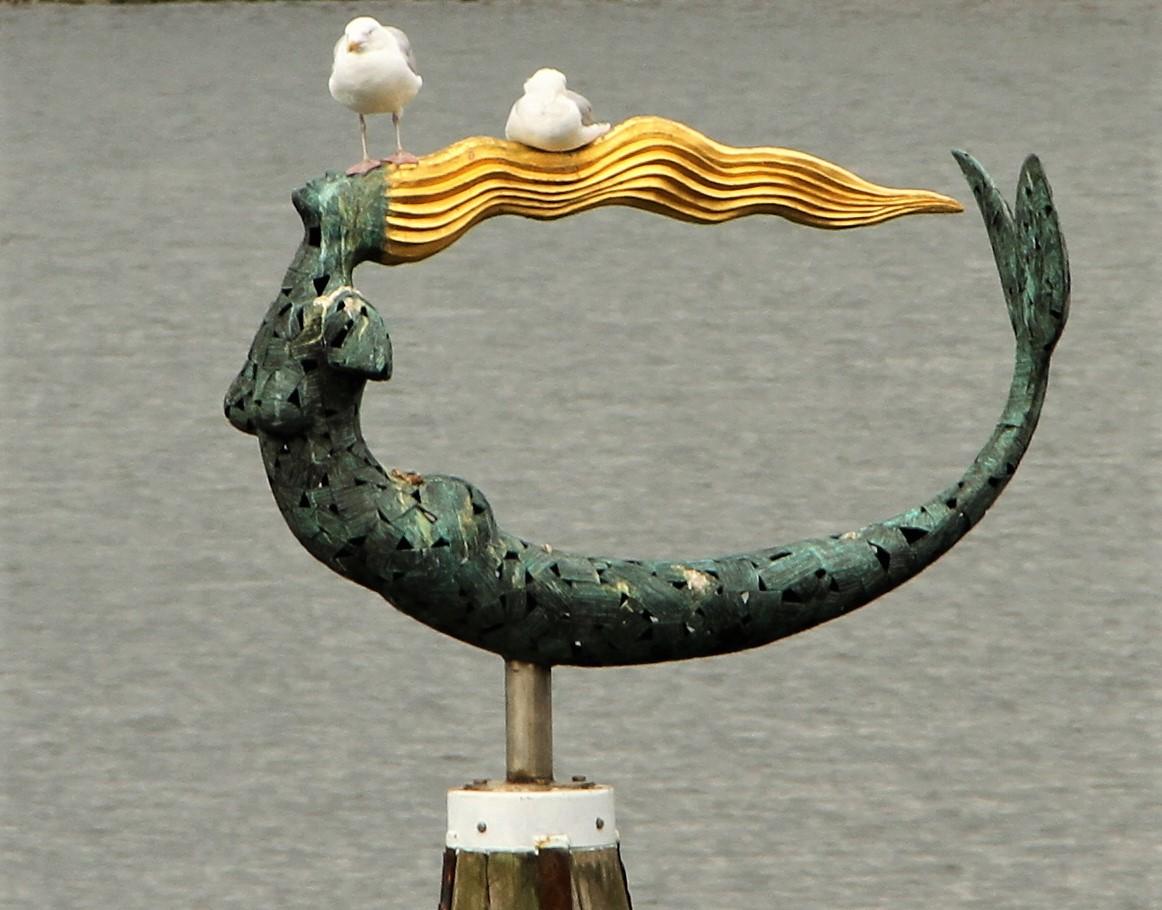 De Zeemeermin in de haven van Wemeldinge