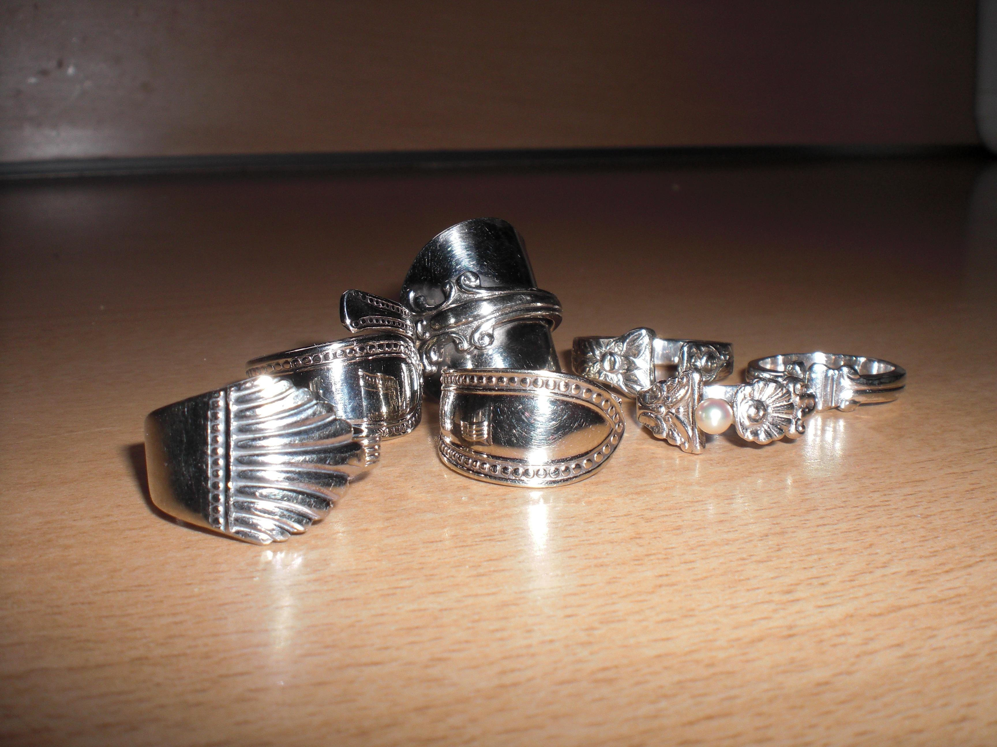 Workshop theelepel-ring maken